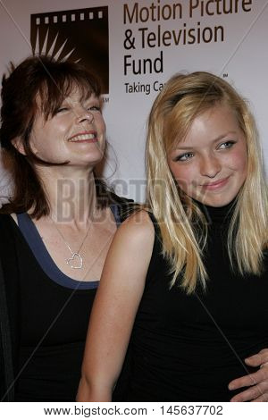 Frances Fisher and daughter Francesca Eastwood at the Los Angeles screening of 'Walk The Line' held at the Academy of Motion Picture Arts & Sciences in Beverly Hills, USA on November 10, 2005.