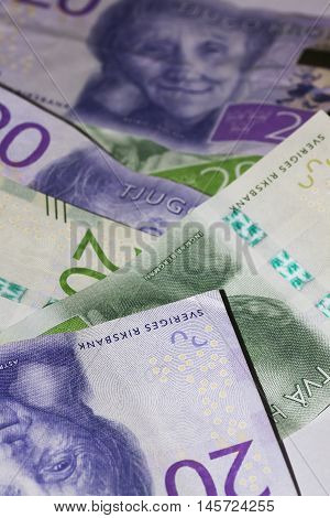some new swedish banknotes issued in 2016