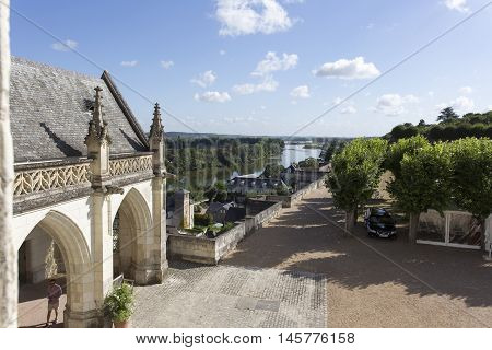 View From Castle Of Amboise