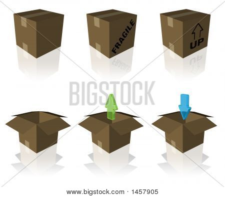 Shipping And Receiving Boxes