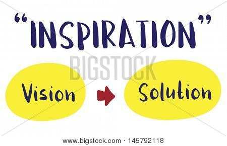 Inspiration Strategy Success Vision Solution Concept