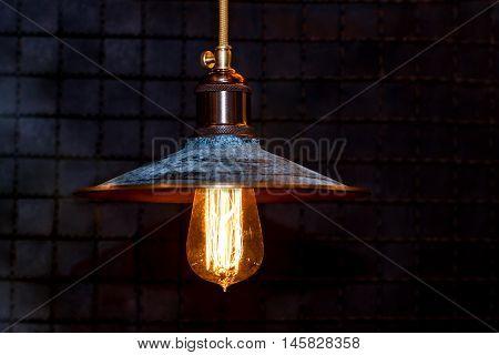 Grunge Interior Lighting Decoration