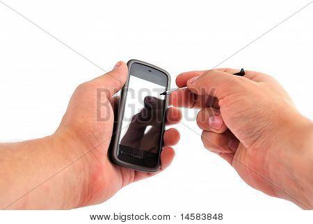 Touchscreen Mobile Phone