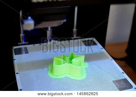 3D printer parts made on the printer the development of volumetric objects 3D printing