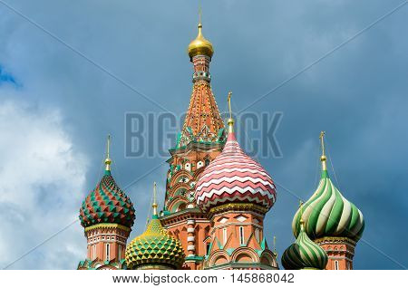 Saint Basil's Cathedral - The Cathedral Of Vasily The Blessed.