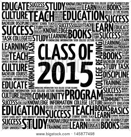 Class Of 2015 Word Cloud
