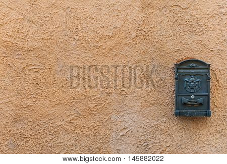 Old Mailbox With Copy Space