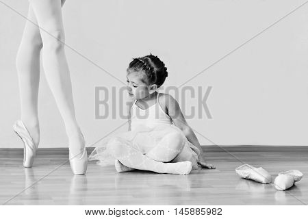 Little Girl In Ballet School