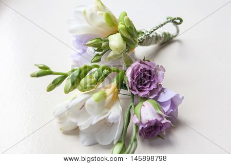 men groom wedding buttonhole boutonniere wed attribute