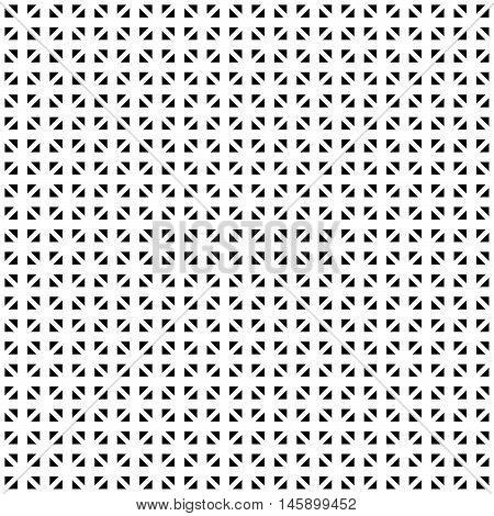 Tileable Grid / Mesh Geometric Pattern Series. Repeatable Monochrome Texture.