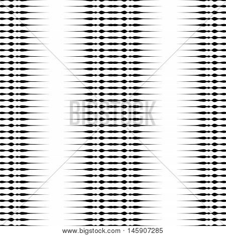 Horizontal Lines Repeatable Geometric Pattern. Stripes, Streaks From Edge Of The Page.