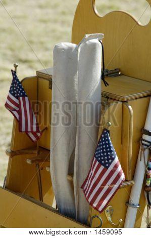 Guns And Flags 1