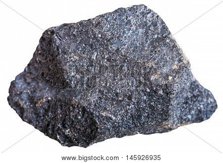 Chromite Stone (chromium Ore) Isolated