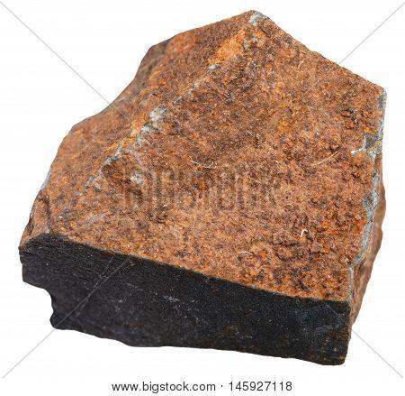 Glassy Basalt (glassbasalt, Hyalobasalt) Mineral