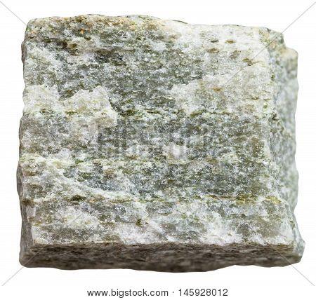 Quartz Muscovite Schist Mineral Isolated