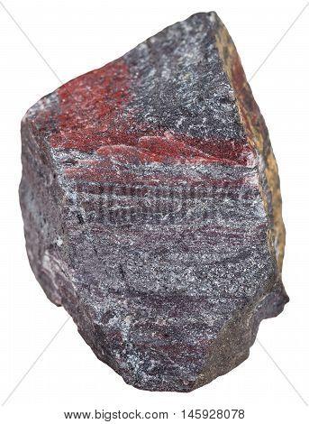 Pebble Of Jaspillite (ferruginous Quartzite)