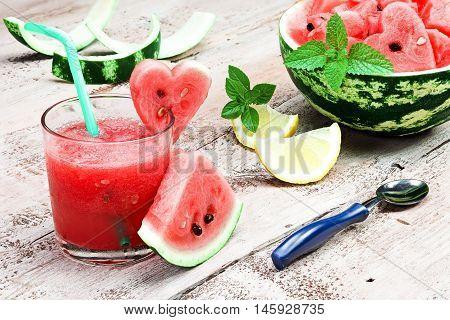Watermelon Cooling Dessert