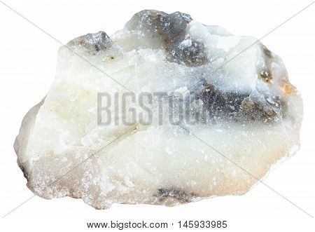 Talc Stone Isolated On White