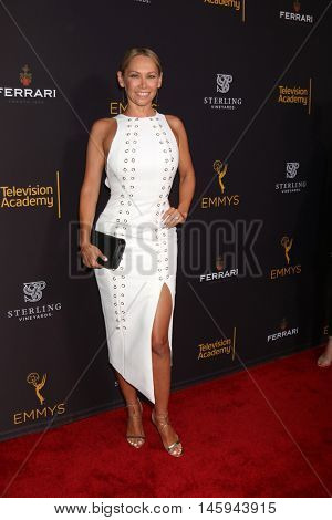 LOS ANGELES - AUG 22:  Kym Johnson at the Television Academy's Performers Peer Group Celebration at the Montage Hotel on August 22, 2016 in Beverly Hills, CA