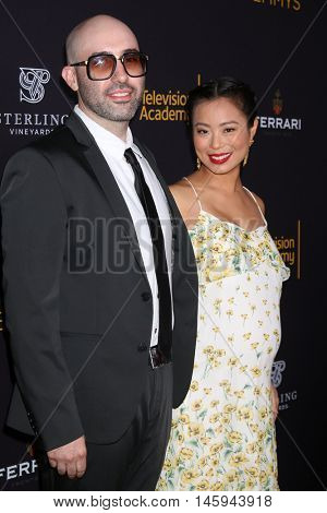 LOS ANGELES - AUG 22:  husband, Michelle Ang at the Television Academy's Performers Peer Group Celebration at the Montage Hotel on August 22, 2016 in Beverly Hills, CA