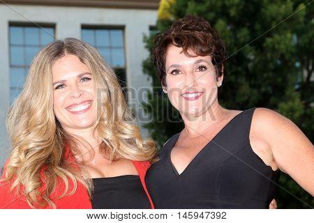 LOS ANGELES - AUG 31:  Jennifer Lee, Colette Freedman at the