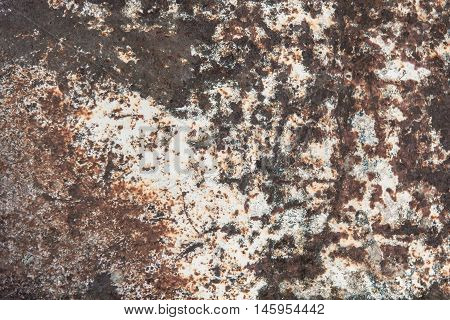 Wheathered Rust Steel Texture Background