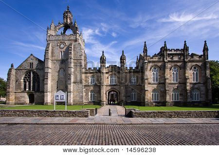 Aberdeen University Kings College Chapel