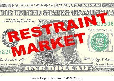 Restraint Market Concept