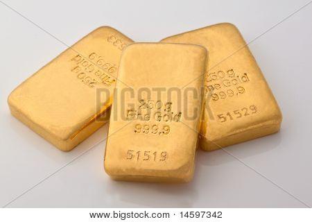 Investment in gold bullion