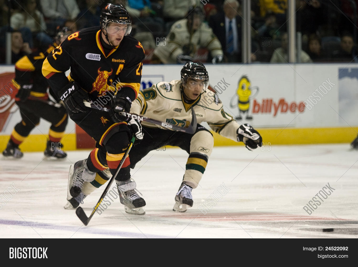 Ontario Hockey League Image Photo Free Trial Bigstock