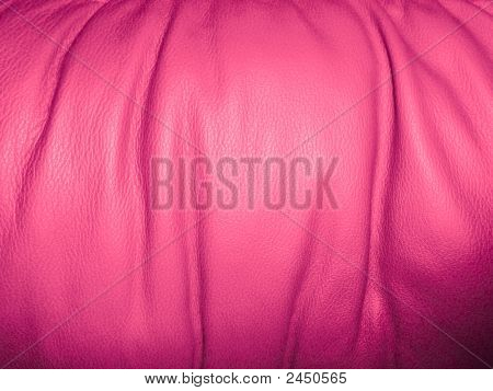 Background: Pink Leather