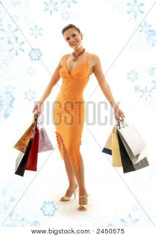 Shopping Euphoria With Snowflakes #2