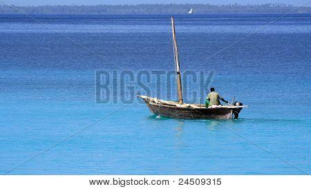 Fisherman In Zanzibar