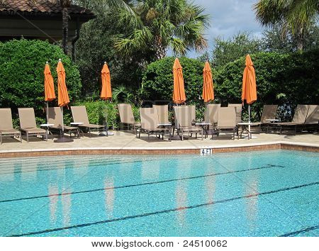 Large Inground Swimming Pool