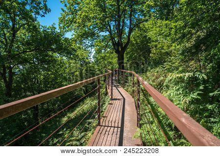 Okatse Canyon, Hiking Trail Above The Canyon, Zeda Gordi, Georgia