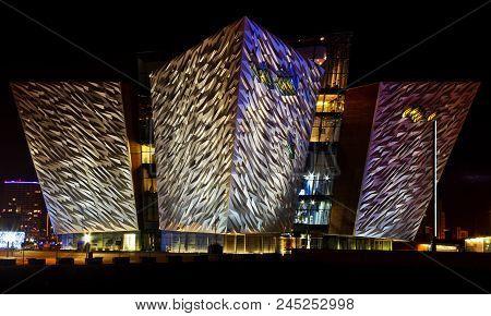 Belfast, Northern Ireland, 27th December 2017 - The Titanic Quarters