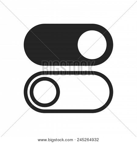 Switch Icon Simple Vector Sign And Modern Symbol. Switch Vector Icon Illustration, Editable Stroke E