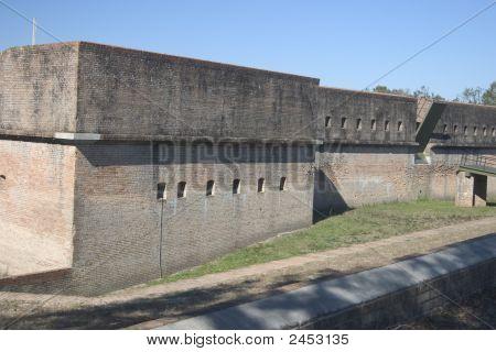 Fort Barrancas Near Pensacola, Florida Gulf Of Mexico