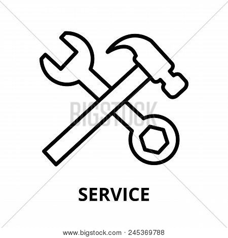 Modern Editable Line Vector Illustration, Service Icon, For Graphic And Web Design