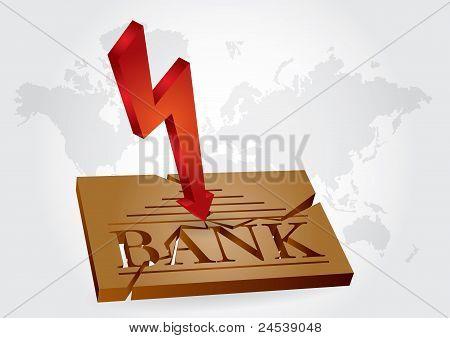 Financial Concept - Bank Failures