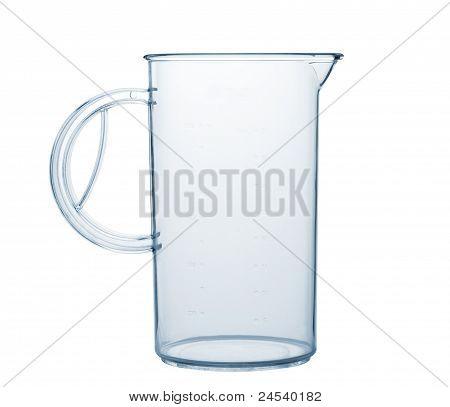 Measured Transparent Empty Glass