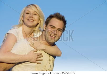 Couple Happy Together 2