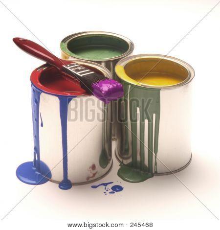 Mixed Paint