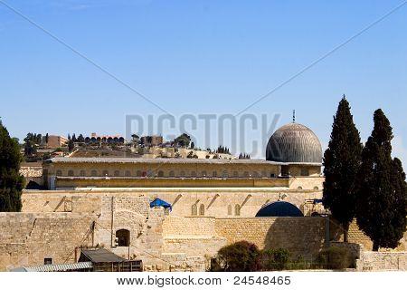 Al-aqsa Dome, Jerusalem, Israel