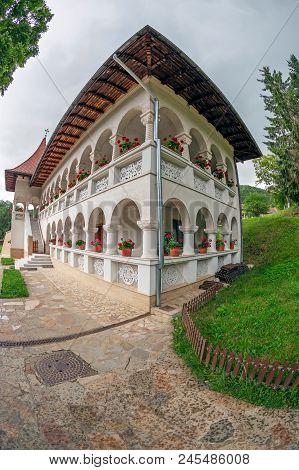 Prislop, Romania - June 14, 2018: Inside The Area Dedicated To The Prislop Monastery, Romania, Where