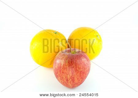 Apple And Orenge