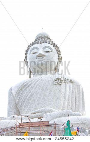 Big White Buddha In Phuket