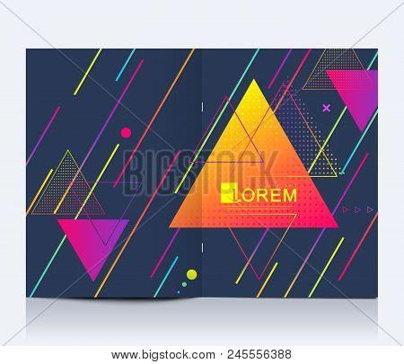 Modern Vector Template For Brochure, Leaflet, Flyer, Advert, Cover, Banner, Catalog, Magazine Or Ann