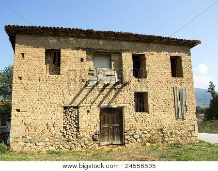 Traditional Old house at Florina (Makedonia,Greece)