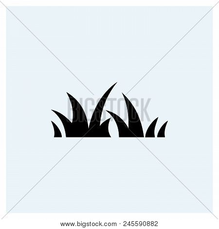 Grass Icon Vector Icon On White Background. Grass Icon Modern Icon For Graphic And Web Design. Grass